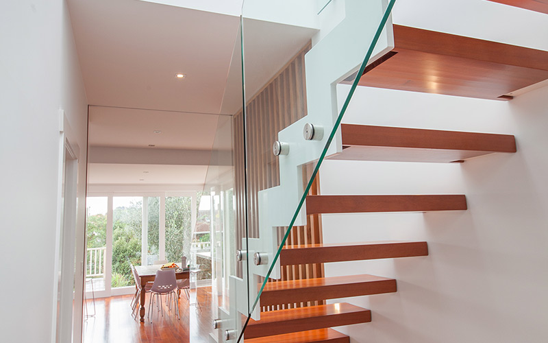 Commercial stair design