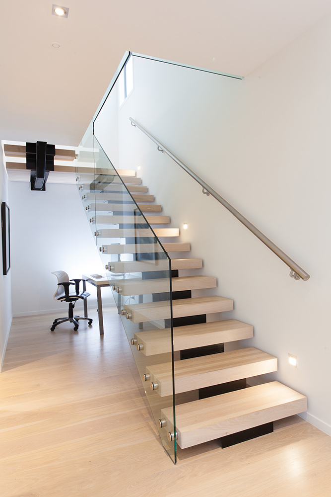 Stairs With Steel Handrail ...