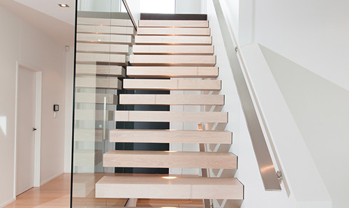 steel handrails for stairs