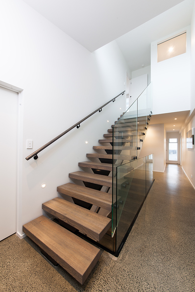 Delightful Wooden Stair Handrails ...