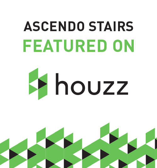 Ascendo Stairs featured on Houzz